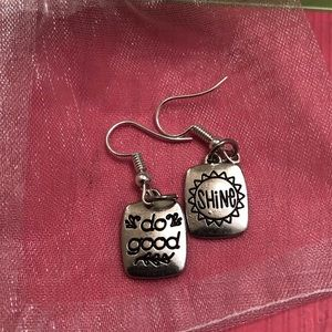 Jewelry - Shine ⭐️& Do Good 🥰 Fish Hook Earrings